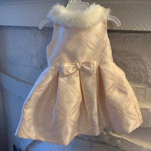 Janie and Jack Holiday  Dress Size 3-6 Months!